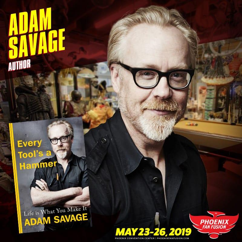 Adam Savage Guest Announcement