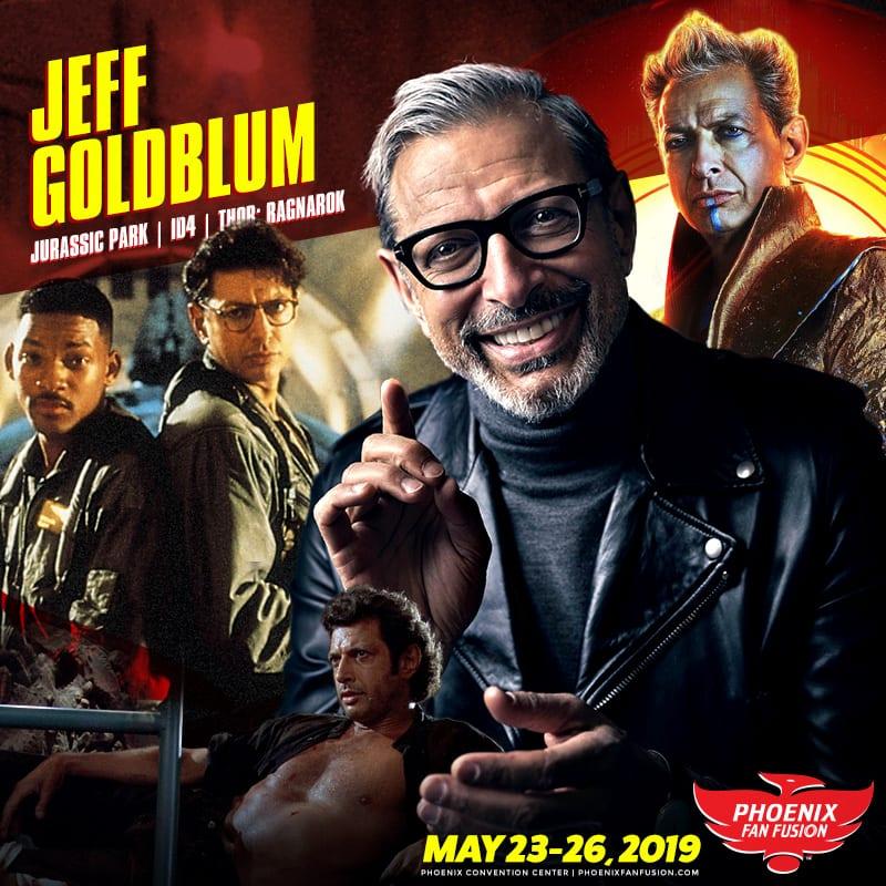 Jeff Goldblum Guest Announcement